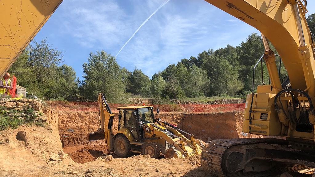 Ibiza property building construction